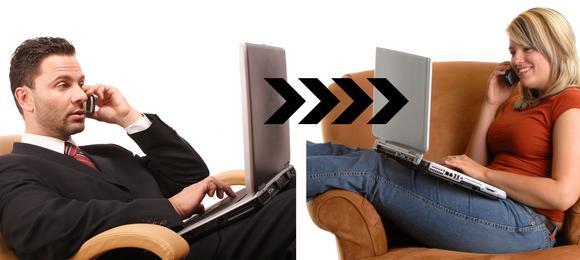 Interaktive Live-Beratung über das Internet spart Zeit und Geld