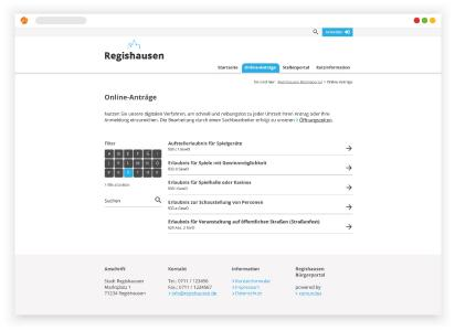 Mit dem neuen Portal für Online-Anträge leistet regisafe einen weiteren wichtigen Beitrag zur Digitalisierung öffentlicher Verwaltungen. Bürger profitieren von der einfachen und übersichtliche Bearbeitung und stellen eine Vielzahl gängiger Verwaltungsanträge im Handumdrehen.