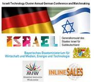 18th GERMAN-ISRAELI Business-Conference and Matchmaking-Event at the 12th of April 2016 at the Bavarian State Ministry in Munich