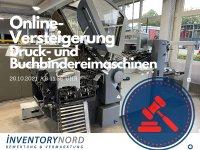 Versteigerung von Druck- und Buchbindereimaschinen