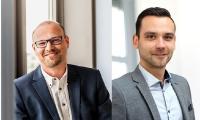 Christian Bücker (li.), Geschäftsführer macmon secure GmbH und Alexander Wiediker (re.), Leitung TAROX Cyber Security