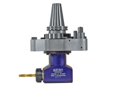 ROMAI-Winkelköpfe werden an die jeweilige Maschine angepasst und sind in allen Maschinenkonzepten einsetzbar wie Bearbeitungszentren mit automatischem oder manuellem Werkzeugwechsel und Sondermaschinen