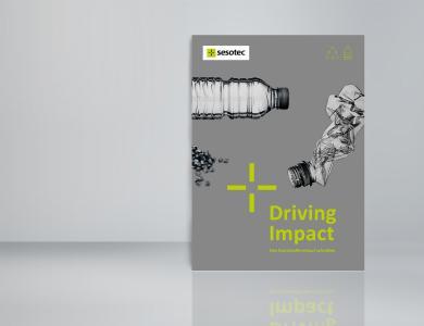 """Im eBook """"Driving Impact – Den Kunststoffkreislauf schließen"""" zeigt Sesotec u.a. auf, welche Herausforderungen und Anforderungen eine Circular Economy mit sich bringt. (Bild: Sesotec GmbH)"""