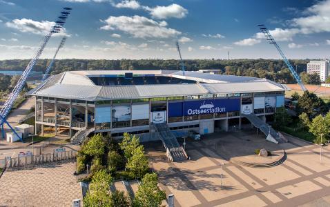Im Rahmen der Zusammenarbeit versorgt GlobalConnect unter anderem das Rostocker Ostseestadion mit ultraschnellem Glasfaser-Internet