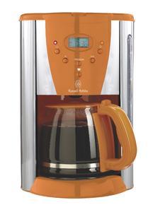 Hot Orange Digital-Kaffeemaschine
