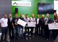 Platz drei des Konstruktionswettbewerbs belegt das Projekt EasyBoat: Studenten der Technikerschule Allgäu konstruierten einen strömungsoptimierten und leichten elektrischen Bootsantrieb