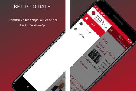 InnoLas Solutions App_HOME
