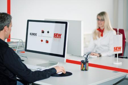 Online Support von SEW-EURODRIVE