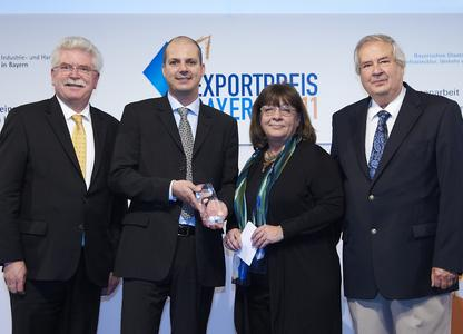Export Award for the Managing Directors from  FotoFinder Systems