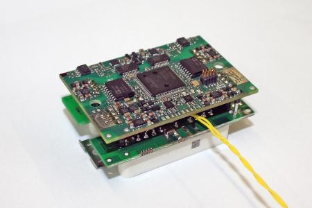 Intelligent Power Unit by Fraunhofer IISB based on a novel 2-wire interface technology.