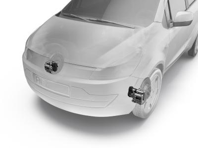 Mit der branchenweit ersten Electric Park Brake (EPB) an der Vorderachse lässt sich nun ein breites Spektrum von Komfort- und Sicherheitsfunktionen auch in Klein- und Kleinstwagen umsetzen