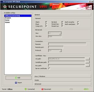 securepoint openVPN