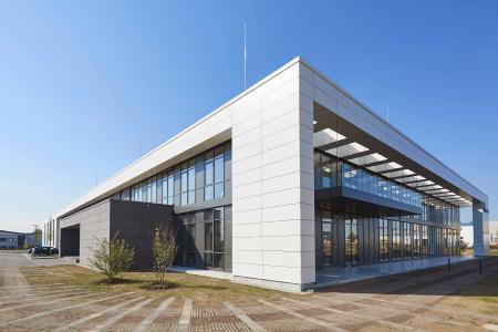 Firmensitz der Elementar Analysensysteme GmbH in Langenselbold
