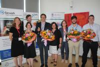 Gewinner im EIT Health BootCamp in Martinsried