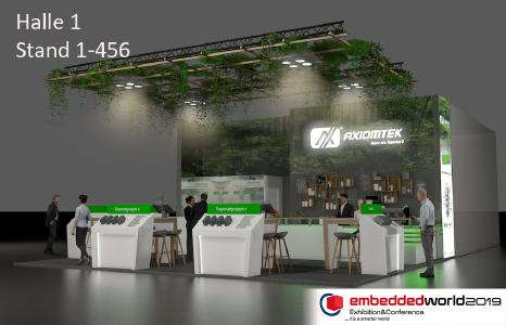 Axiomteks Messestand