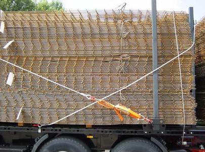 Bild 5: Einhängen der Seile