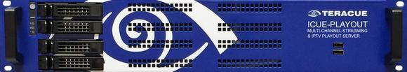 Bis zu 4x4K oder 16HD Multi-Channel Streaming Playout für IPTV und IP Video: Der neue ICUE-PLAYOUT Streaming Server von Teracue eyevis GmbH