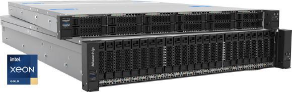 bluechip SERVERline 70000+ mit skalierbaren Intel® Xeon® Prozessoren der 3. Generation