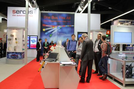 Impulsgeber verschiedener Branchen informierten sich über Sercos Neuheiten auf der SPS IPC Drives in Nürnberg