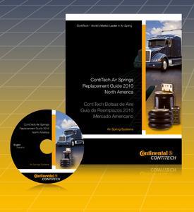 Der neue Luftfederkatalog von ContiTech Air Spring Systems wird für MATS-Besucher auch als CD erhältlich sein. Foto: ContiTech