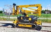 Die RR9-Tab 200 hat eine Arbeitshöhe von 9,50 m und eine seitliche Reichweite von 4,70 m.