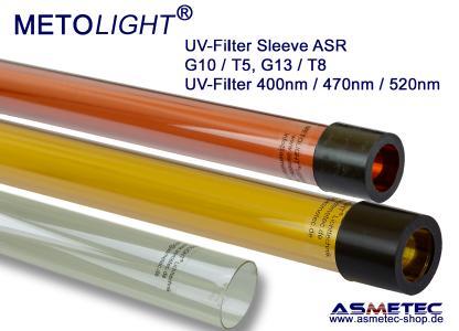 Metolight UV-Filter-Röhren