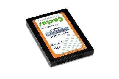 Die ultrarobusten 2,5-Zoll-SSD von Cactus Technologies