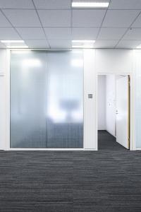 Anwendung 3M Fasara Glasdesignfolien