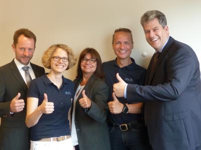 Geschäftsleitung und dbc Team
