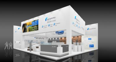Rheinmetall Automotive exhibiting components for emission reduction and electric vehicles