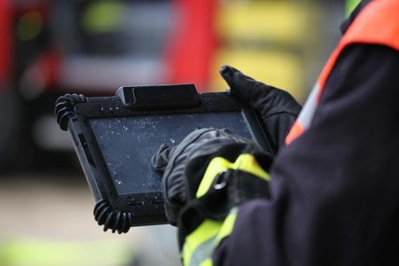 Mobile Identifikation mittels RFID bei Rettungsdienst und Feuerwehr