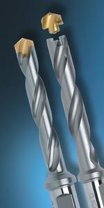 KOMET®  KUB K2®  replaceable head drill for small diameters