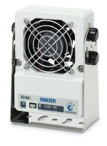 Elektrostatische Aufladung auch bei leichten Werkstücken abbauen: Serie IZF10R mit vier einstellbaren Durchflussstufen