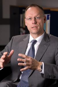 Steffen Schoch, Geschäftsführer der Wirtschaftsregion Heilbronn-Franken GmbH (WHF) Bild: Brian Bailey Photography