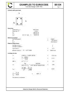 Interactive Design Aids to BS EN 1992