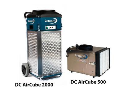 Luftreinigungsgeräte der DC AirCube Familie
