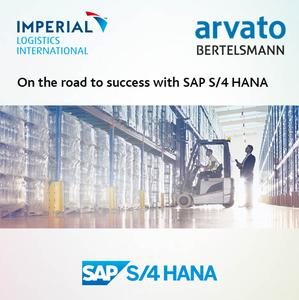 On the road to success with SAP S/4 HANA: arvato Systems and IMPERIAL