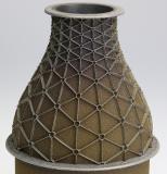 Mit hyperMILL® ADDITIVE Manufacturing gefertigtes Bauteil Aerospace Turbinendüse / Quelle: OPEN MIND