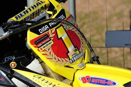 Mike Stender MX2-Meister auf Suzuki