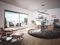 heroal S 65 est un système de porte coulissante en aluminium pour grandes ouvertures dans la construction de logements et immeubles haut de gamme. Il se distingue par sa fabrication optimisée / © heroal