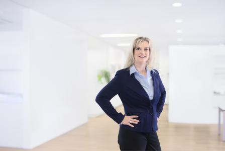 Geschäftsstellenleiterin Petra Poiger