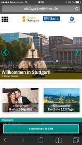 In Stuttgart ins Netz - Mit Dimension Data, Unitymedia und der Stuttgart Marketing GmbH