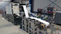 Rolle-zu-Rolle Pilotanlage zur Funktionalisierung von Polymermembranen