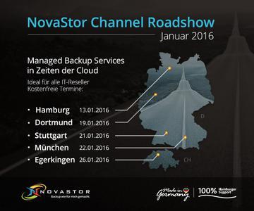 NovaStor Roadshow 2016
