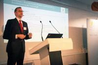 Ansgar Haase von Ventum ging auf technische Herausforderungen der Blockchain-Technologie ein (Bildquelle: Ventum Consulting)