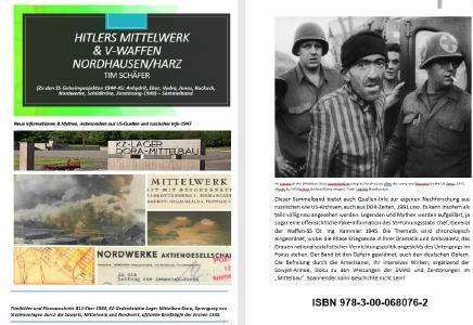 Tim Schäfer Buchtitel V.03 ISB 978 3 00 068076 2 Sammelband Hitlers Mittelwerk &V Waffen Nordhausen