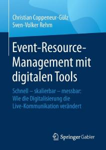 Buchcover - Event-Resource-Management mit digitalen Tools