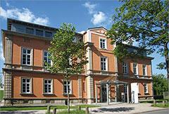 Firmensitz des Konzerns in Hof - HFO Telecom AG
