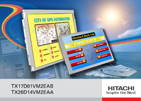 Hitachi introduce ultra high brightness TFT displays