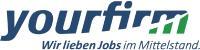 Logo yourfirm GmbH, die Online-Jobbörse exklusiv für den Mittelstand